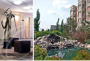 Condo style suites, contemporary features...