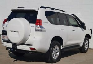 2012 Toyota Landcruiser Prado KDJ150R GXL White 6 Speed Manual Wagon
