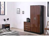 wardrobes full sets in 3 different colours available free assembly service and delivery