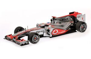 MINICHAMPS McLAREN MERCEDES MP4-25 diecast model F1 race cars 2010 1:18th scale