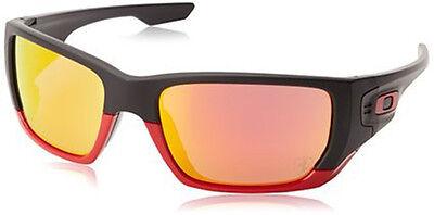 Oakley Style Switch Sunglasses 919424 Matte Black Frame Ruby Iridium Lens 60 (Oakley Style Switch)