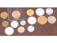 Coin Collection - multi national. Dated 1950's non precious metal. Ideal starter set