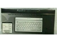NEW Freedom Expression – Ultra Slim Bluetooth Keyboard for iPhone, iPad, Android Tablets