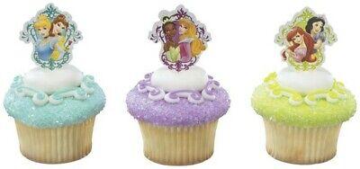 New Disney Princesses Garden Cupcake Picks One Dozen Poly Picks](Disney Cupcake Picks)