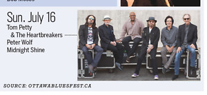 Two Bluesfest Passes for 16th July incl. Tom Petty