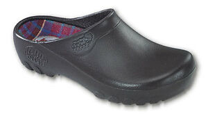 Mens-Jolly-Garden-All-Weather-Rubber-Nursing-Uniform-Comfort-Clogs-Shoes-Brown