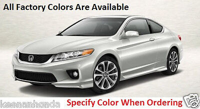 Genuine OEM Honda Accord 2Dr Cpe Full Under Body Spoiler Kit 2013 - 2015 Coupe