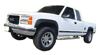 1988 1998 Chevrolet GMC CK 1500 Truck Fender Flares Smooth Matte Black NEW