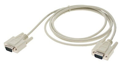 10Ft. DB9 Serial RS-232 Male to Male Straight-Thru Cable (10 Feet) MEC-10MM for sale  Shipping to India