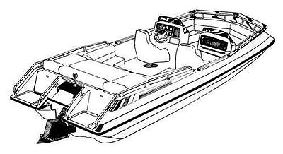 Ski Deck Boat - 7oz BOAT COVER DECK BOAT SKI DECK XL I/O 1991-1992