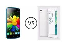 Sony xperia E5 range Smartphone Various Colours (GRADE B)