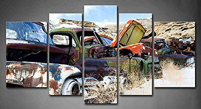 Wall Art Vintage Car Old Classic Picture Canvas Print Painting Home Office Decor