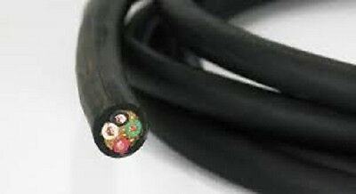 12//4 Bulk Cable 100 Foot Water and Oil Resistant 20 Amps 4 Wire SOOW Jacket 600v