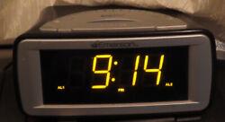 EMERSON SmartSet Alarm Clock- CKS9051 -Dual Alarm FM/AM Radio- w/ Owner's Manual
