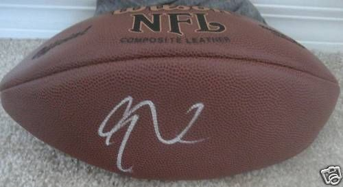 EDDIE GEORGE SIGNED AUTOGRAPH NEW NFL FOOTBALL TITANS