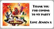 Power Rangers Stickers