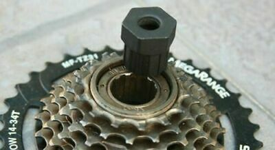 Bike Flywheel Cassette Remover Freewheel Removal Repair Tool For Bicycle NP2X