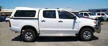 2007 Toyota Hilux GGN25R MY07 SR White 5 Speed Automatic Utility Bellevue Swan Area Preview