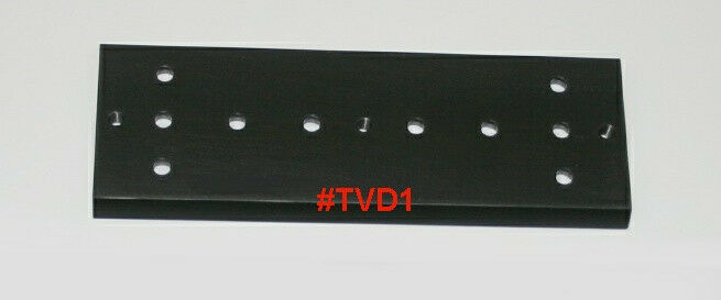 "ScopeStuff #TVD1 - 8"" Solid Aluminum Dovetail Bar 3"" Wide for GM11,GM8,CGEM,etc"