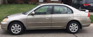 2003 Honda Civic LX Sedan Very Low Mileage.