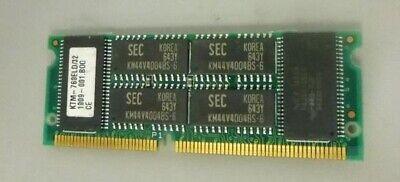 Kingston 32MB EDO DRAM Non-Parity 144-Pin SoDimm Memory Module - - Dram 144 Pin