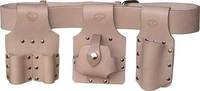 Scaffolding Tool Belt Set - Premium Tan Leather - Connell Of Sheffield - Uk Made