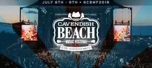 2 Weekend Passes Cavendish Music Festivals
