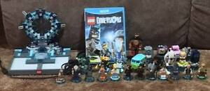 Lego Dimensions Wii U Starter Pack plus lots of extras Woodcroft Morphett Vale Area Preview