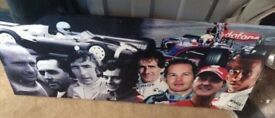 F1 canvas £6 but I'm open to offers (le3)