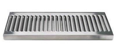 Surface Beer Drip Tray Tap Kegerator Faucet Draft 12x5 No Drain