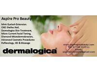 Lash/ Eyelash Extensions, Manicure, Waxing, Galvanic Facial, Microdermabrasion, Reflexology, Massage