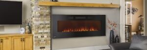 """Brand New Continental 50"""" Linear Fireplace"""