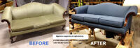 Upholstery woodworking service