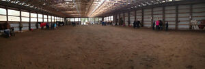 Indoor Riding Arena rental