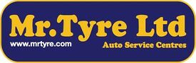 Tyre and Exhaust Fitter Required