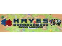 Hayes Boardgamers: Friendly club, welcoming new players. FREE