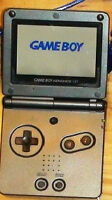Game Boy Nintendo Advance SP system with charger