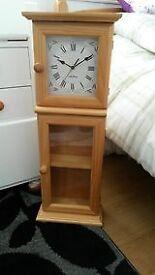 Large Pine Wall clock