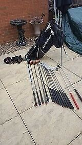 REDUCED FOR QUICK SALE A real bargain golf bag,clubs and covers