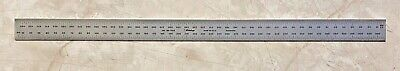 Mitutoyo 450mm Steel Rule Blade 1mm 0.5mm 1mm 0.5mm Graduation Usa Made