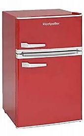 Montpelier retro style mini fridge