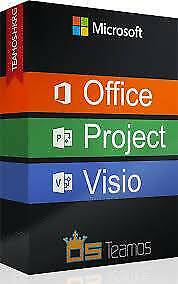 Microsoft Office 2016 Pro Software - Also For MAC