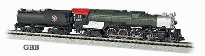 N Scale GREAT NORTHERN 4-8-4 Locomotive with Vandy Tender Bachmann New 58154