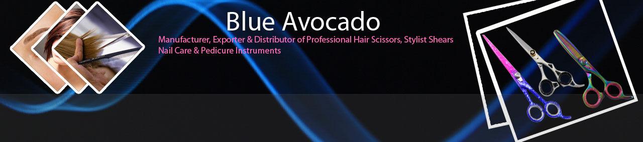 Blue Avocado Hairdressing Scissors