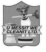 Urgently seeking 2 cleaners $11.50-15/hr~experience is an asset