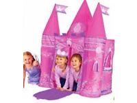 Pop up Princess castle tent- excellent condition