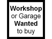 *Wanted* Workshop / Garage space