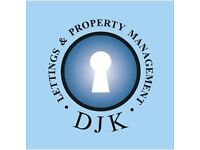 DJK lettings tenants and landlords wanted