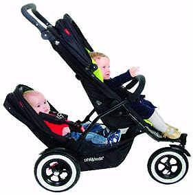 Phil & Ted Navigator Pram plus FREE additional red stroller Concord Canada Bay Area Preview