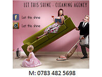 Cleaning is our passion! Domestic and Office cleaning services.